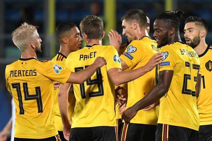 انتصارات كاسحة لبلجيكا وكرواتيا والنمسا في تصفيات يورو 2020