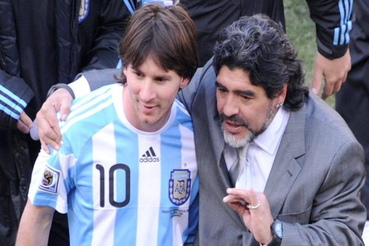 نجل مارادونا: ميسي الأفضل في عصره.. ومن ينتقده لا يفهم في كرة القدم