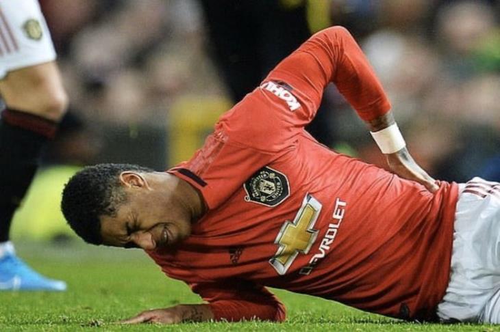تقارير: راشفورد يغيب عن مانشستر يونايتد 3 أشهر بسبب إصابة الظهر