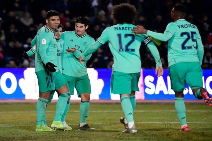 دياز يتألق ويقود ريال مدريد لقتل أحلام سالامنكا بكأس ملك أسبانيا
