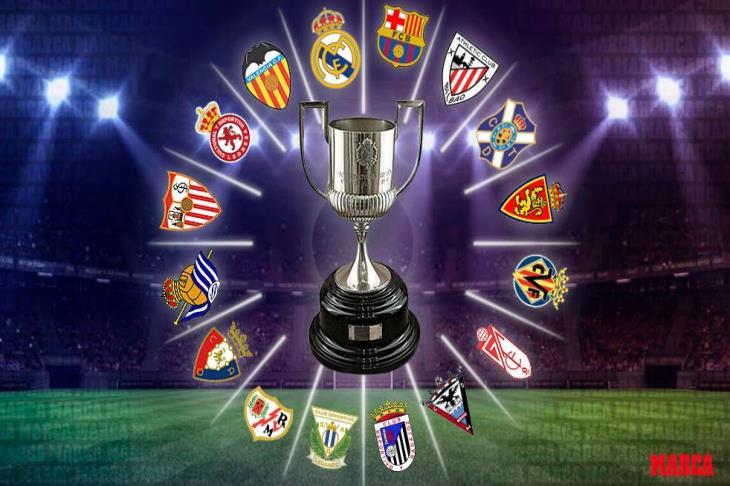 قرعة كأس ملك إسبانيا.. 16 فريقا يتنافسون على اللقب.. وكلاسيكو محتمل