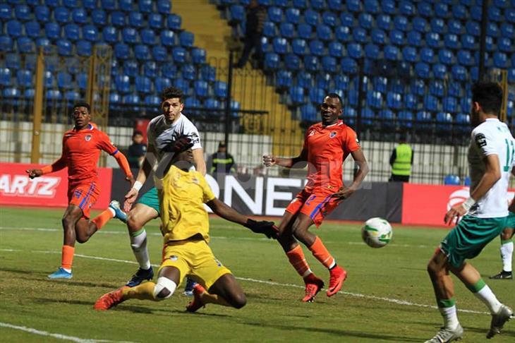 المصري يرافق بيراميدز لربع نهائي الكونفدرالية بفوز قاتل على نواذيبو