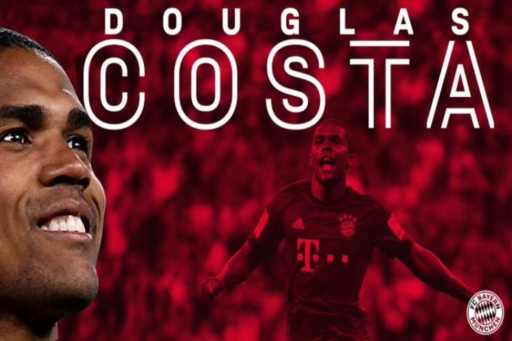 رسمياً.. دوجلاس كوستا يعود إلى بايرن ميونخ