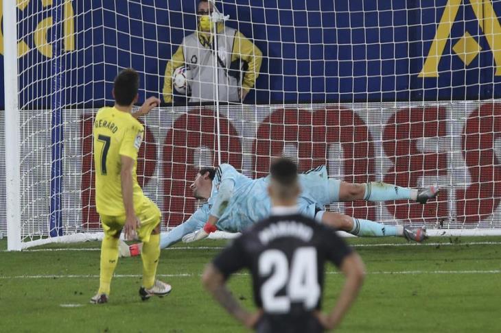 خطأ كورتوا يُسقط ريال مدريد في فخ التعادل أمام فياريال بالليجا (فيديو)