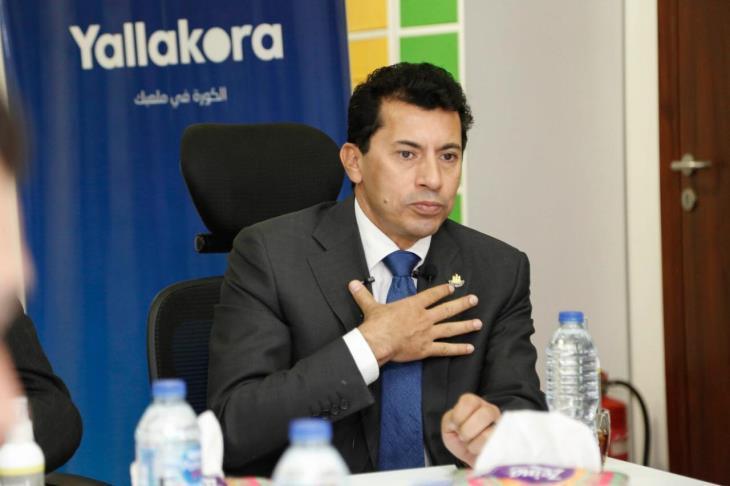 أشرف صبحي: تدخل الدولة في الرياضة يكون بسبب عدم قدرة المسئول على الحل