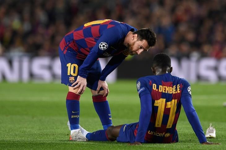 برشلونة يستسلم.. ديمبيلي للبيع مقابل 42 مليون يورو