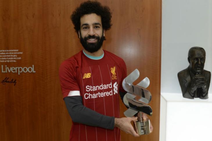 صلاح يفوز بجائزة لاعب شهر يناير في ليفربول