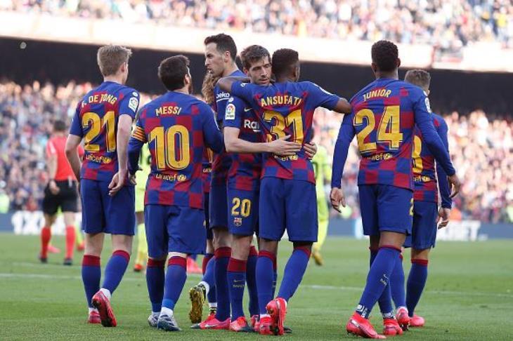 برشلونة ينجو من فخ الدقائق الأخيرة أمام خيتافي ويشارك الريال صدارة الليجا