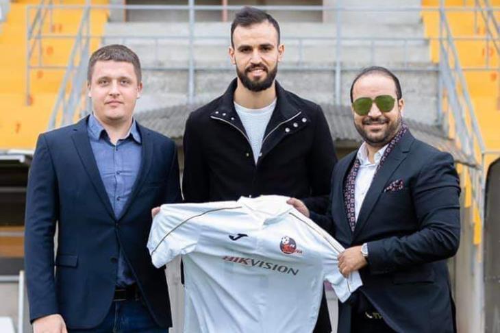 رسميًا .. حمدي النقاز إلى سودوفا بطل ليتوانيا