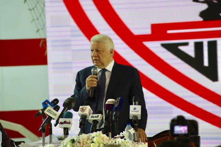 مرتضى منصور: ستاد الزمالك الجديد يشبه ستاد السلام
