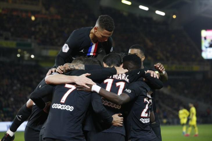 سان جيرمان يثأر من ديجون بسداسية ويبلغ نصف نهائي كأس فرنسا