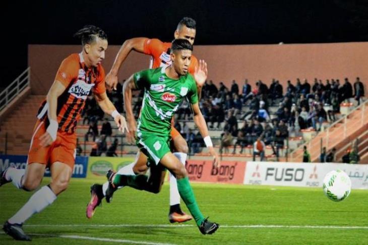 حميد أحداد لاعب الشهر في الرجاء المغربي