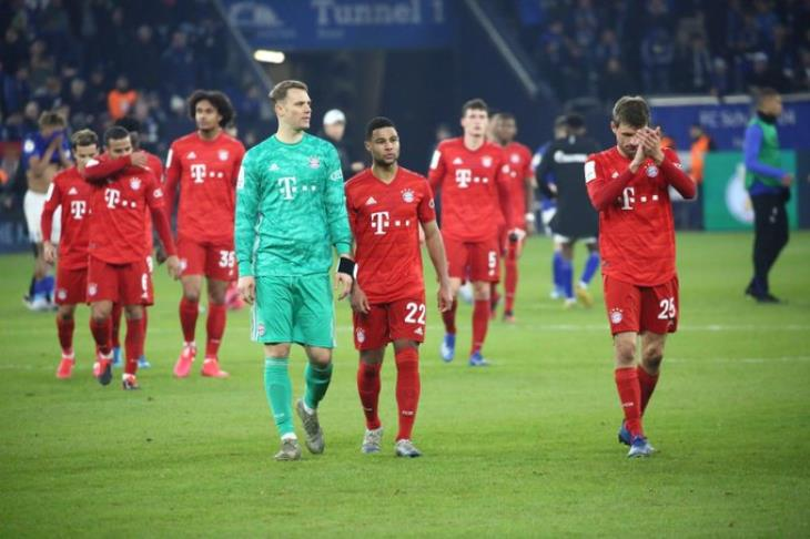 بايرن ميونيخ يهزم شالكة ويتأهل لنصف نهائي كأس ألمانيا