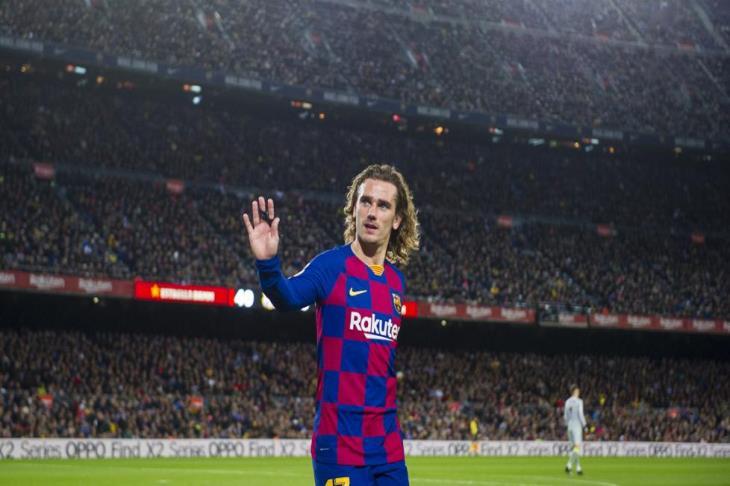 جريزمان ينشر رسالة واضحة حول مصيره مع برشلونة