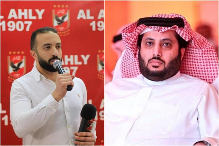 """بالصور.. """"هجوم متبادل"""" بين عضو مجلس الأهلي وتركي آل الشيخ"""