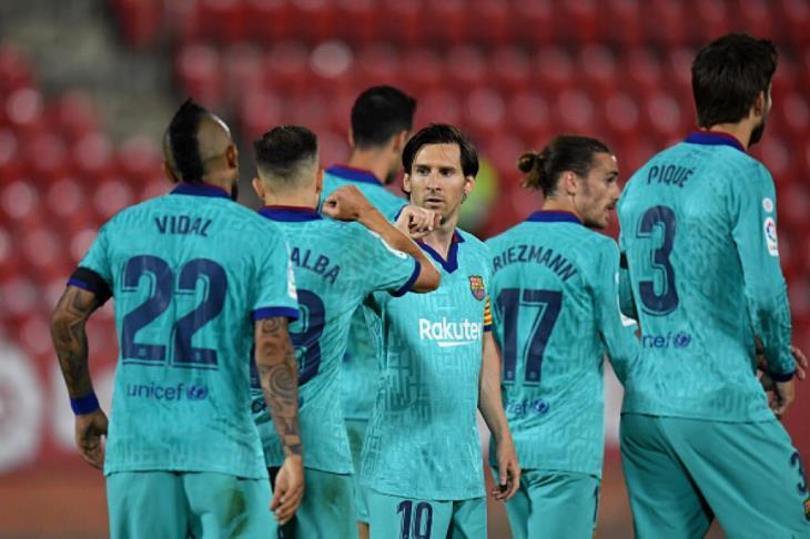 """برشلونة يحتاج للـ""""فوز"""" لإيقاف التساؤلات بشأن ميسي وجريزمان وسيتين"""