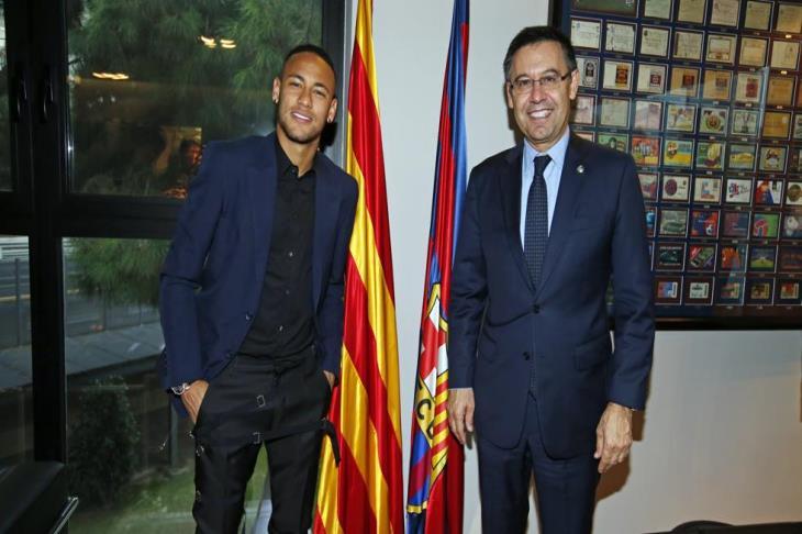 القضاء الإسباني ينصف برشلونة ويلزم نيمار بإعادة 6.7 مليون يورو