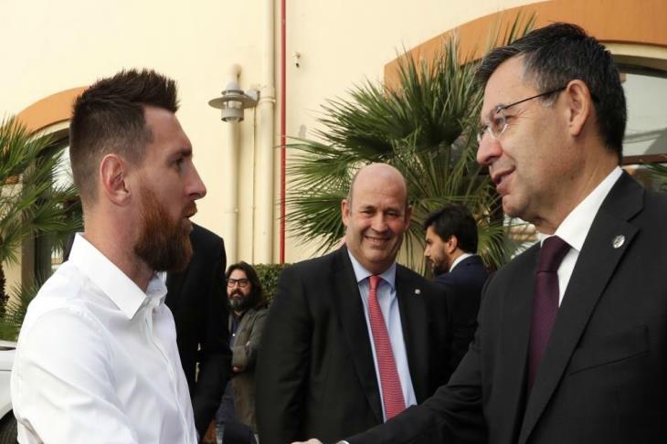 تقارير: ميسي قرر الرحيل عن برشلونة