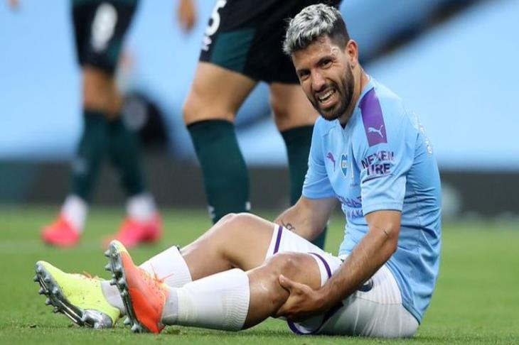 لا يبدو جيدًا.. جوارديولا يعلق على إصابة أجويرو ضد بيرنلي