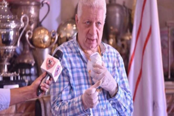 بينهم الخطيب وضابط قطري.. مرتضى منصور يتقدم ببلاغ ضد 14 شخصية
