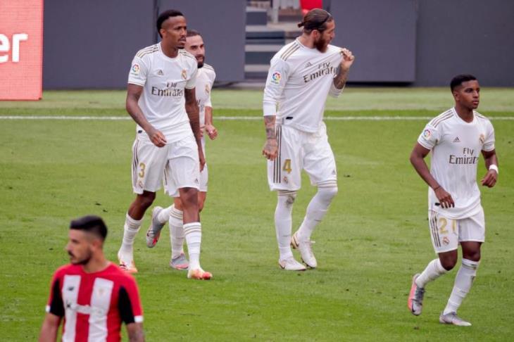 غير قابل للإيقاف.. راموس يقرب لقب الليجا من مدريد بإسقاط بيلباو (فيديو)