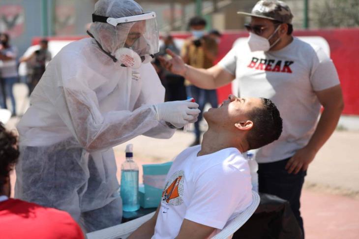 """الأهلي يجري المسحة الطبية الرابعة للكشف عن """"كورونا"""" الأربعاء"""