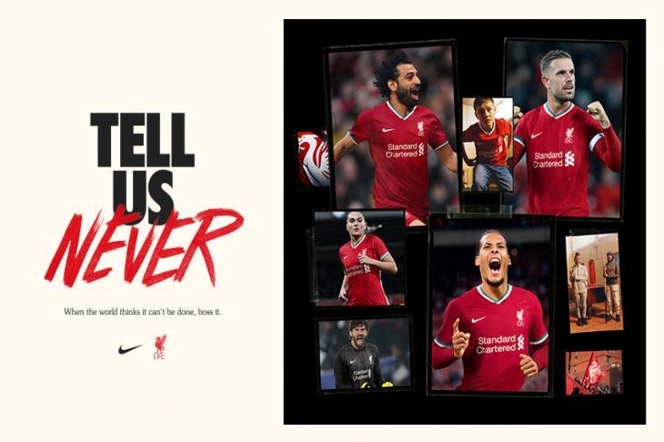 بالصور.. ليفربول يكشف عن قميصه الجديد