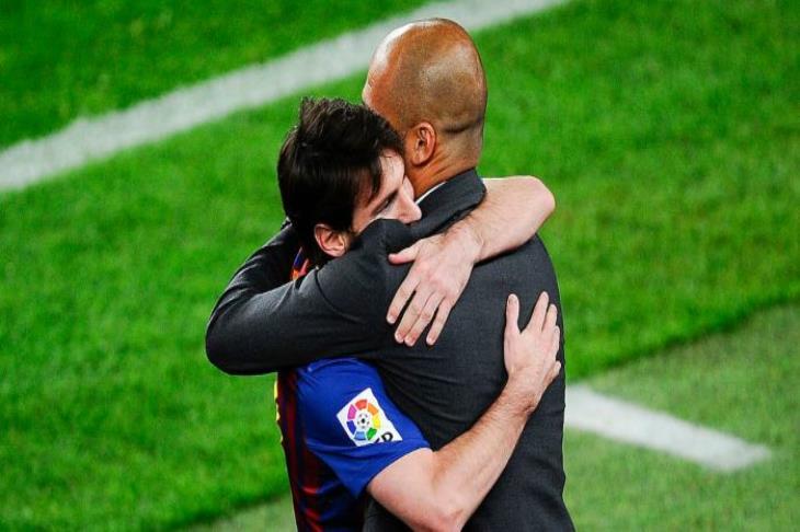 جوارديولا: أريد أن ينهي ميسي مسيرته في برشلونة