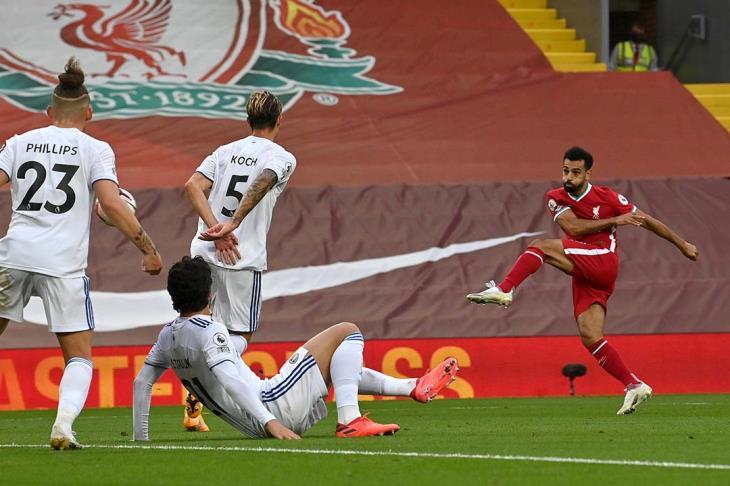 """ليفربول لـ""""يلا كورة"""" عن أنباء إصابة صلاح بكورونا: لا نعلق على شائعات تويتر"""