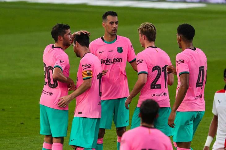 ميسي يسجل هدفين في فوز ودي لبرشلونة استعدادا لليجا
