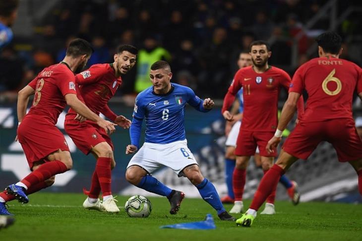 نتيجة بحث الصور عن مباراة البرتغال وايطاليا