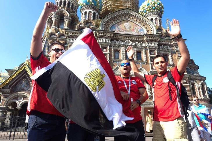 موعد مباراة مصر وروسيا والقنوات الناقلة يلاكورة