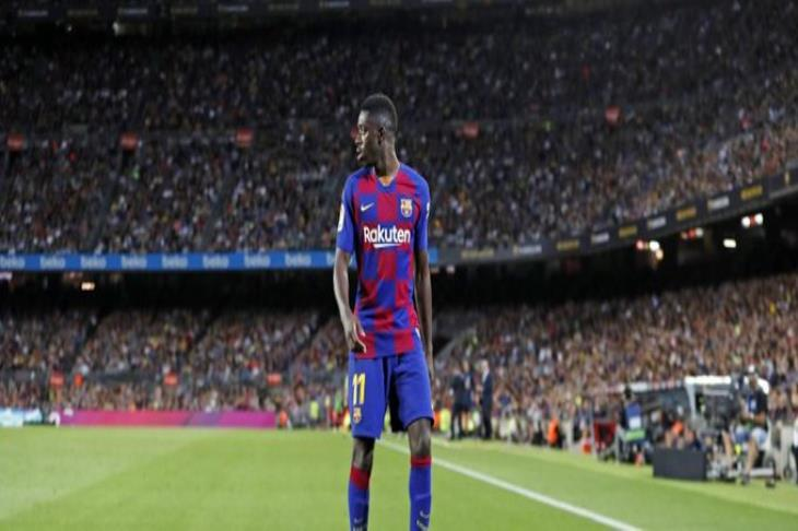 """Miss Clasico"" .. Dembele penalty revealed after being sent off in front of Sevilla"