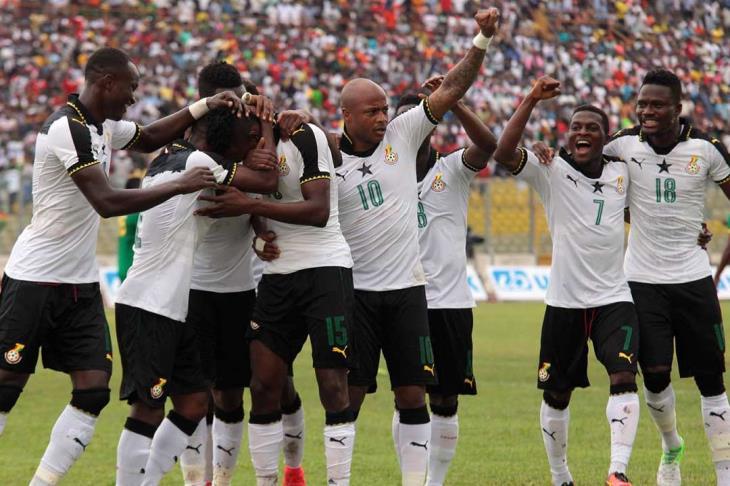 نتيجة بحث الصور عن آتسو يغادر معسكر غانا بسبب الإصابة