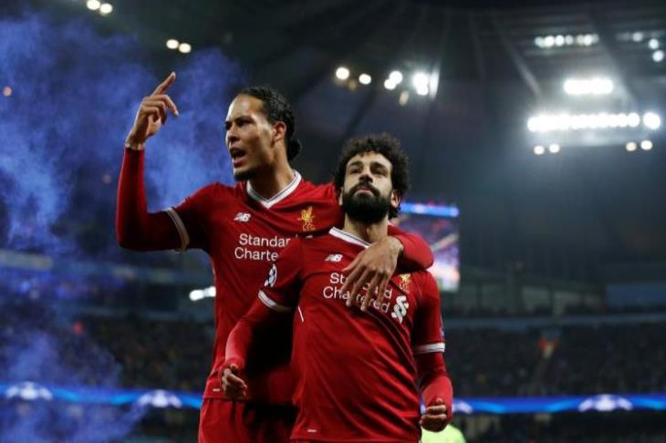 """I'm not worried"" .. Van Dyke talks about Salah's position on catching up with Manchester United"