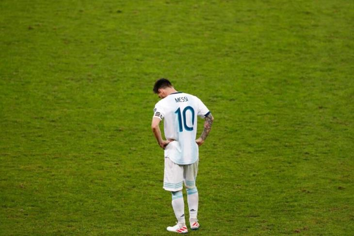 "Argentina coach misses ""magic"" Messi against Germany"