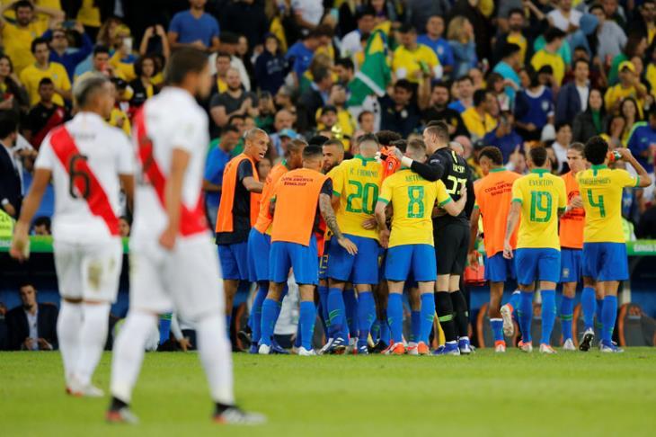 منتخب البرازيل بطلا لكوبا امريكا