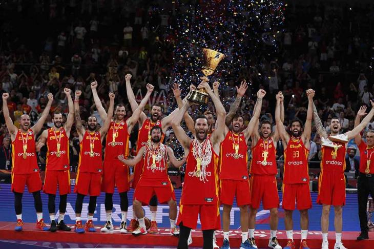 إسبانيا - كرة سلة