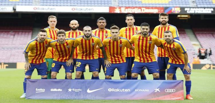 برشلونة يستقر على تشكيلته قبل مواجهة ريال مدريد  - ياللاكورة