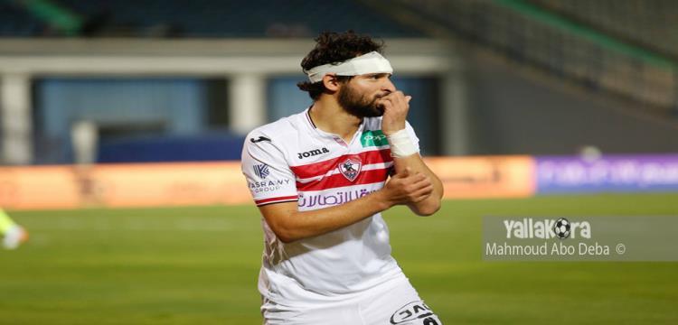 إصابة محمود علاء في مران الزمالك - ياللاكورة