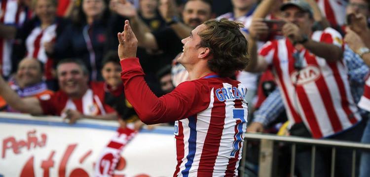 جريزمان: جريزمان: أتمنى تحقيق البطولات مع أتلتيكو مدريد