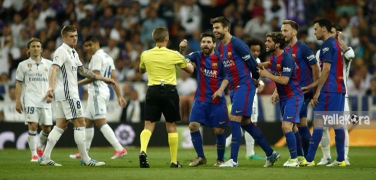 برشلونة وريال مدريد في ذهاب السوبر الاسباني  - ياللاكورة