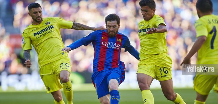 تقرير.. فياريال لم يفز على أرضه أمام برشلونة منذ عقد - ياللاكورة