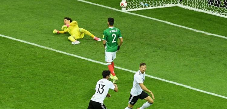 منتخب ألمانيا يدهس المكسيك في طريقه لنهائي كأس القارات