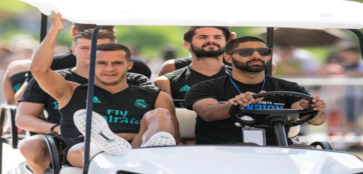 ريال مدريد يواصل تدريباته استعدادا لمواجهة مانشستر - ياللاكورة