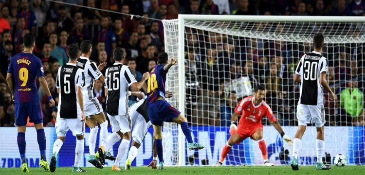 برشلونة يهين يوفينتوس ويرد له صفعة الثلاثية في دوري الأبطال