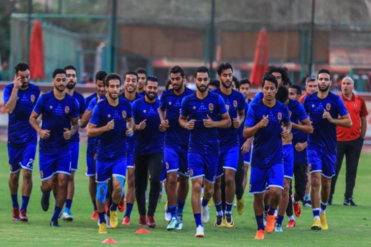 مران الأهلي.. 5 لاعبين يتدربون على ضربات الجزاء.. وتأهيل المصابين