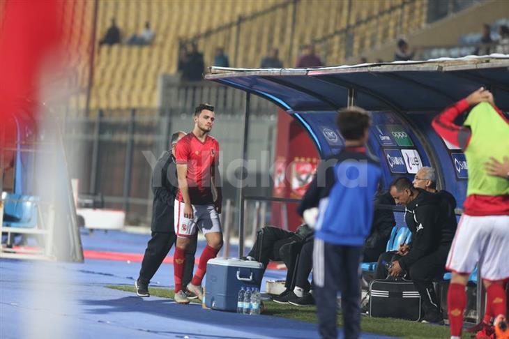 طبيب الأهلي: صلاح محسن يحتاج لـ4 أسابيع للعودة للمباريات