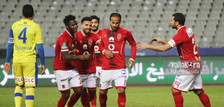الدوري الممتاز.. الأهلي 0-0 وادي دجلة  - ياللاكورة