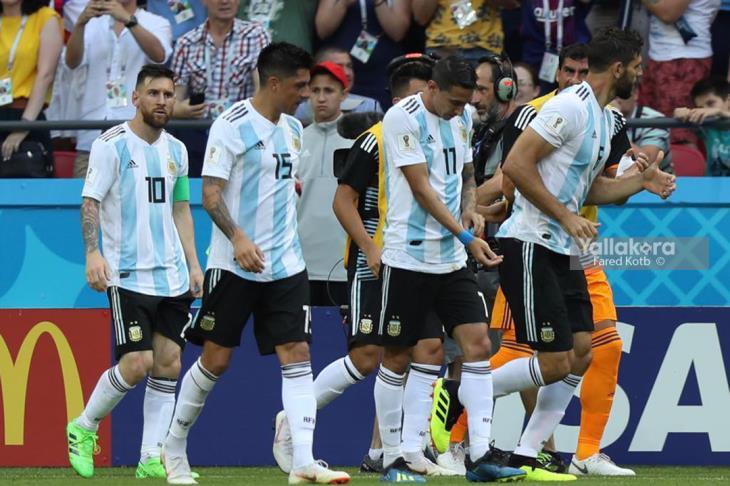 4 لاعبين يتخلفون عن معسكر الأرجنتين بعد الخروج من المونديال
